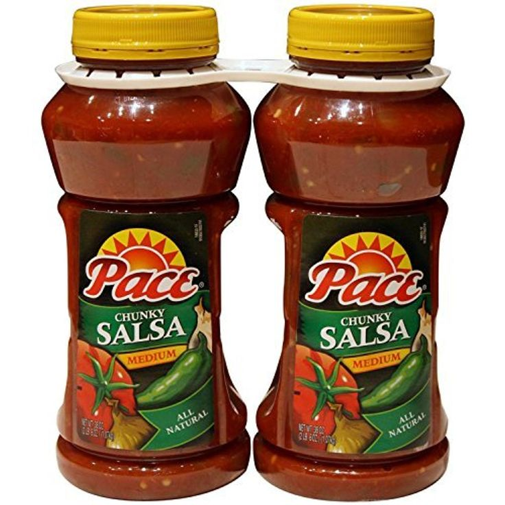 Pace Chunky Salsa - Medium - 2/38 oz. - CASE PACK OF 4 by Pace -- Awesome products selected by Anna Churchill