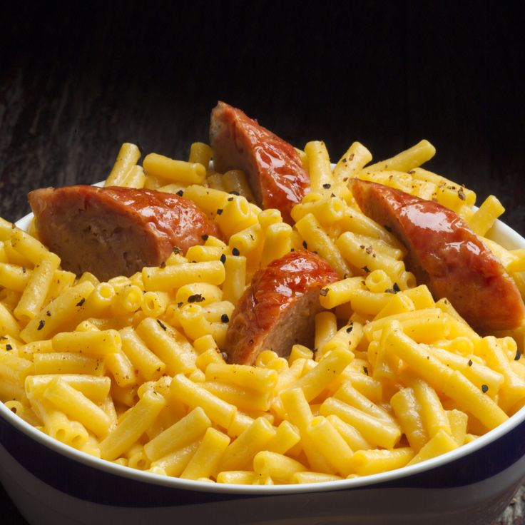Italian Sausage With Macaroni And Cheese Easy Amp Tasty Turkify Sponsored By Cargill