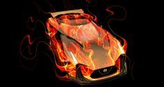 Design Talent Showcase – ElTony Brings Sensual, Elemental Fire and Water to YOUR Car Wallpapers