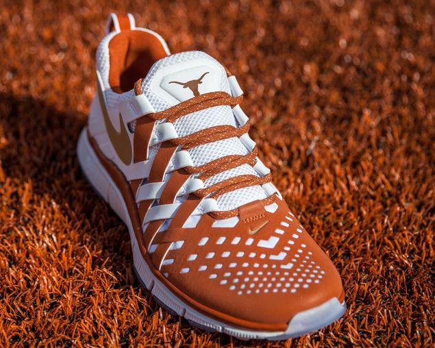 Release Reminder: Nike Free Trainer NRG 'Texas' As the 2013 Red River  Rivalry kicks off this weekend between the Texas Longhorns and Oklahoma  Sooners, ...
