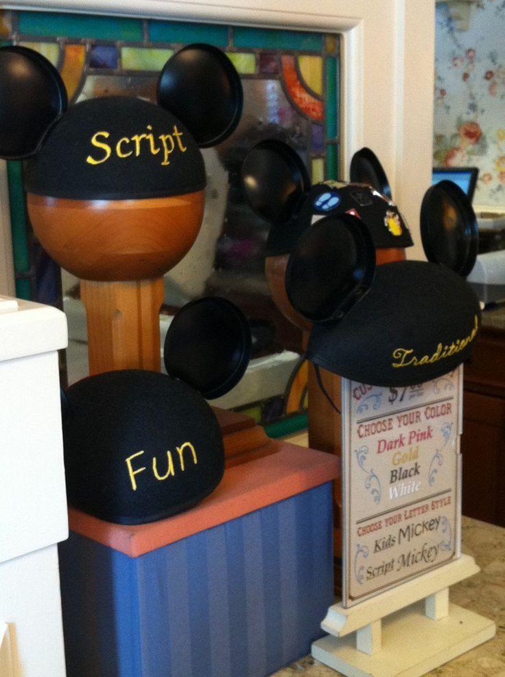 Monogrammed Mickey Ears