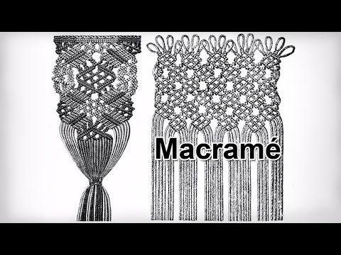 getlinkyoutube.com-Classic Macrame knots and patterns from ancient times