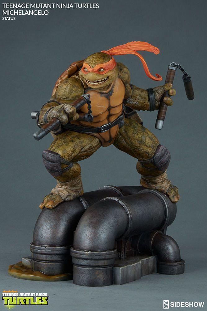 TMNT Michelangelo Statue by Sideshow Collectibles   Sideshow Collectibles