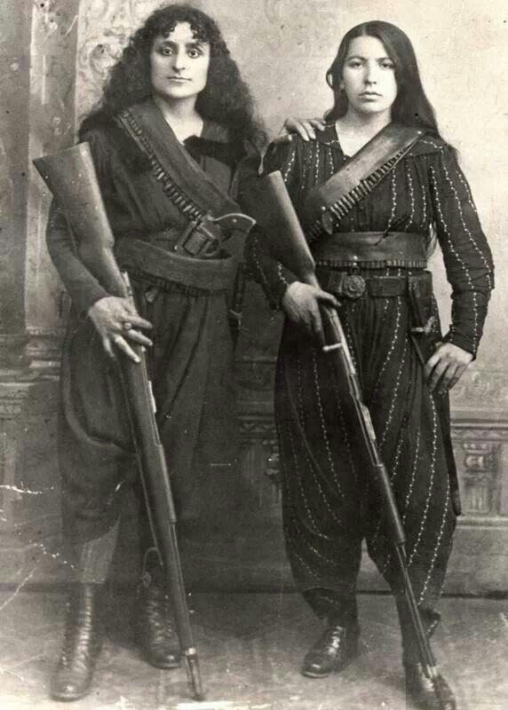 'Amazons of the Caucasus', Western Armenia, 1895