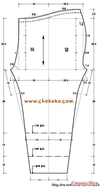 Взято с японского блога http://blog.sina.com.cn/  может кому пригодится Картинка, как снять мерки Чертеж выкройки