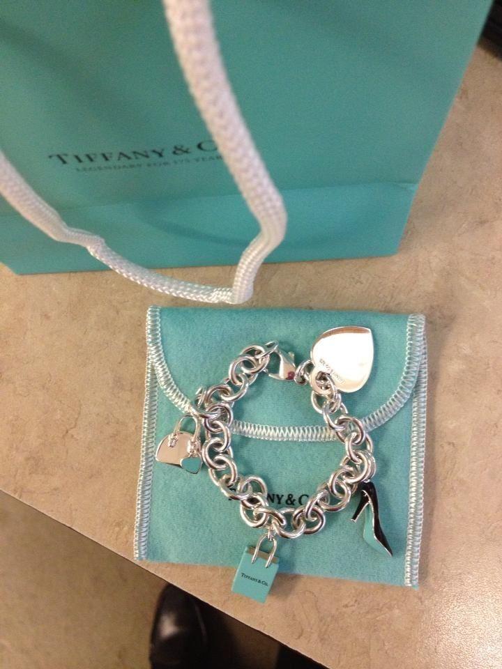 Tiffany's charm bracelet.