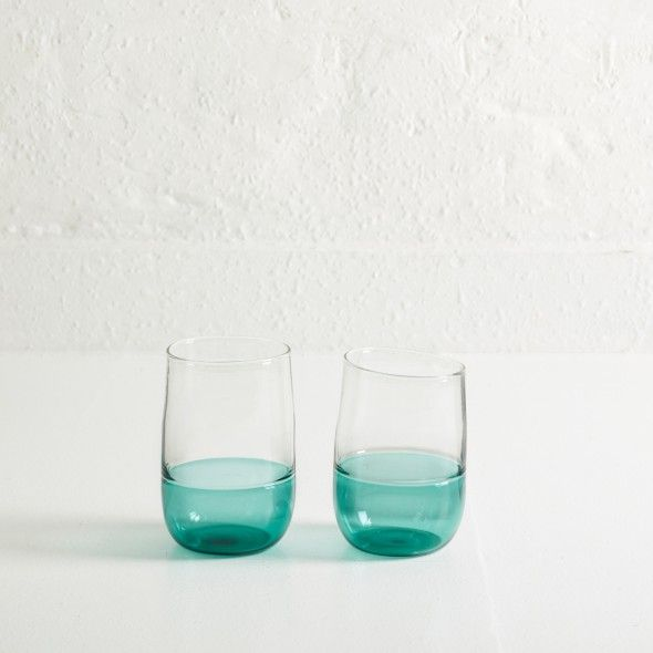 Incalmo water glasses by Jochen Holz