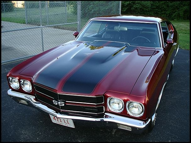 1970 Chevrolet Chevelle SS 396/350 HP, 4-Speed for sale by Mecum Auction