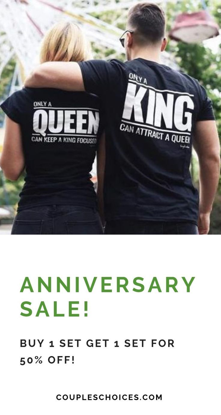 Only a King & Queen Shirts