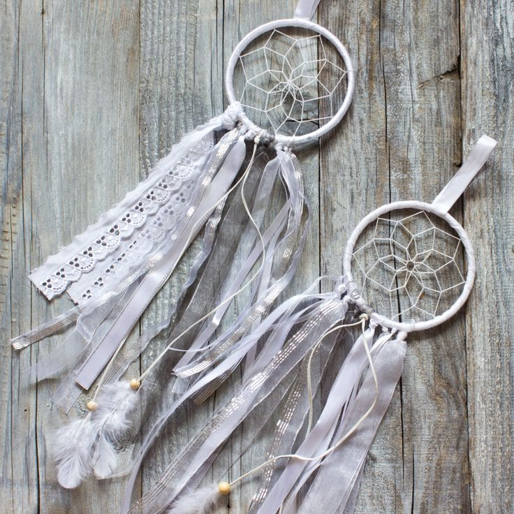 LACE&WOOD DREAMCATCHER by flavourknit on Etsy