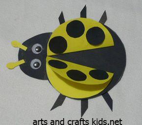 Ladybug Craft | Ladybug | Easy crafts ideas for kids – Craft projects
