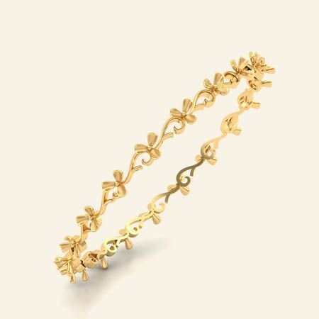 chevonne gold bangle