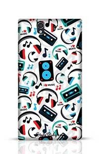 Music Lovers Sony Xperia Z Phone Case