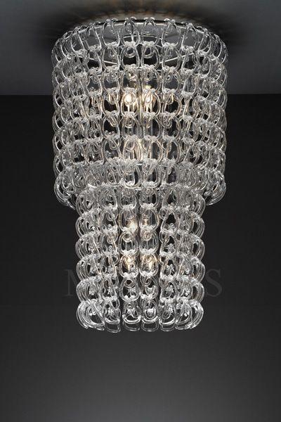 ΜΑΥΡΟΣ -- Murano ceiling lamp | GANCI