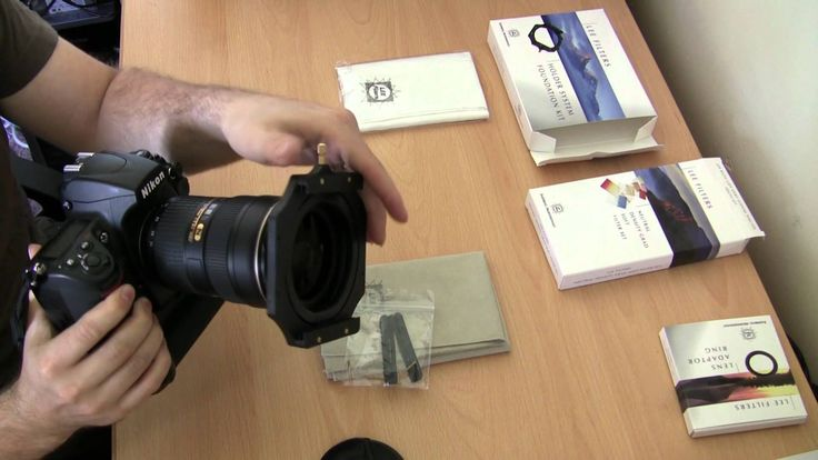 Quick look at the Lee Foundation kit filter holder system and the ND soft grad filter set. How to attach to the camera and more. This kit uses the Lee 100x15...