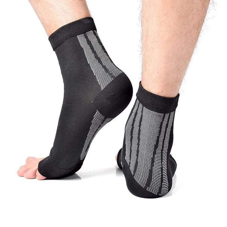 3 pairs a lot Unisex Open Toe Compression Circulation Socks to increase blood flow and reduce swelling men's socks