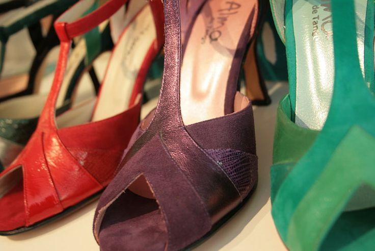 Modelo 8030 Degrade de colores Alma buenos aires zapatos de tango!!