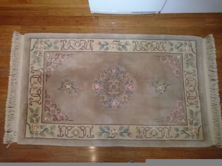 Large Chinese Sculptured Rug