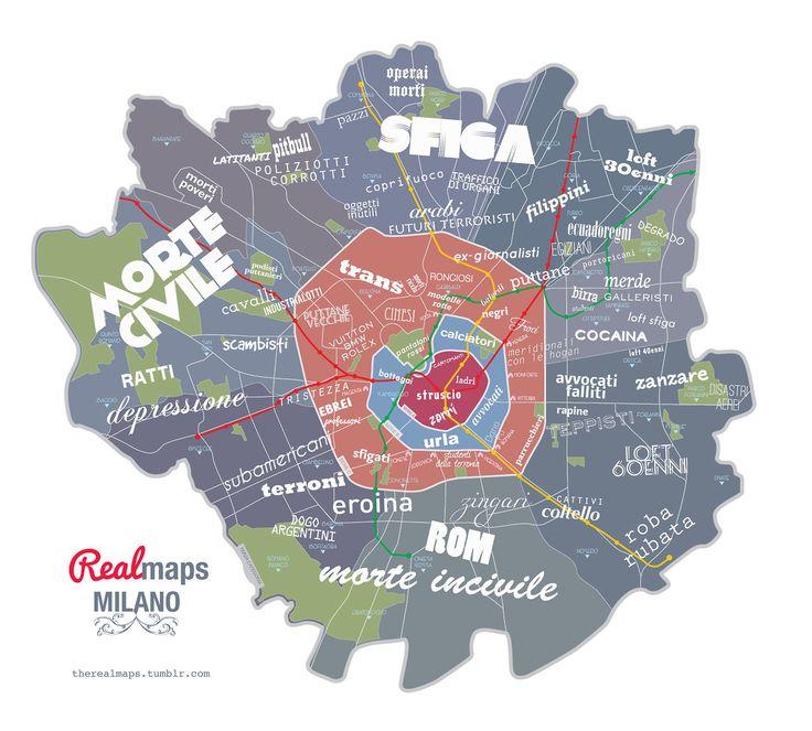 Milan - Real Maps