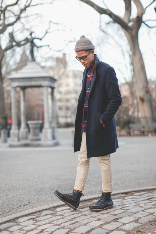 Crop Pants And Boots For Men Man Style Pinterest