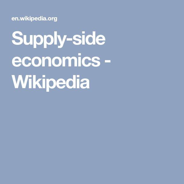 Best 25+ Supply side economics ideas on Pinterest Innovation - economist sample resumes