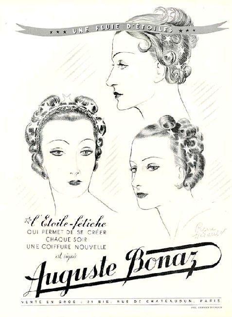 Advertisement For Maison Auguste Bonaz Paris 1930s Small