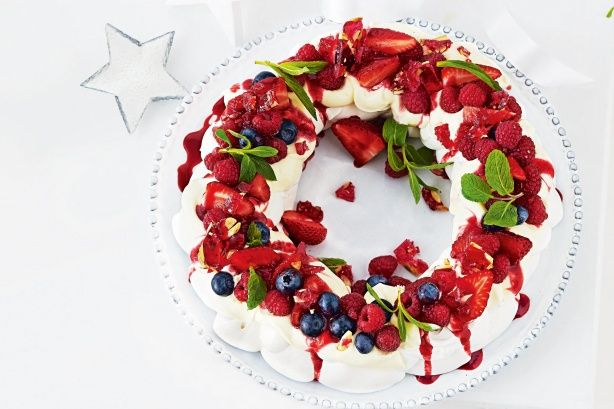 Have yourself a berry cherry Christmas with this divine dessert.
