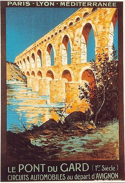 "Vintage Travel Poster - Pont du Gard - Avignon - Provence - France ... Need Energy to Travel the World? Try SABA ACE (Appetite Control & Energy) Supplements TODAY! www.TexasTrim.net and save $$$Money$$$ by clicking ""Get Started Now"" at upper right corner!"