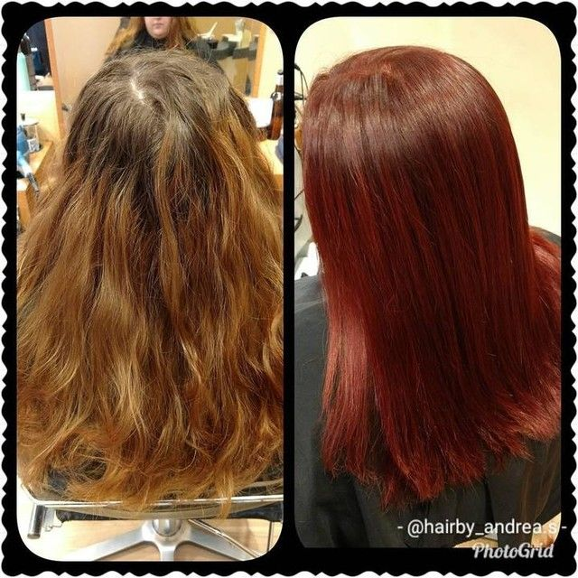 Beautiful Red Haircolor Makeover By Salon Pro Andra S At Our Bubbles Hollymead Location In Charlottesville Va Long Hair Styles Hair Styles Hair Color
