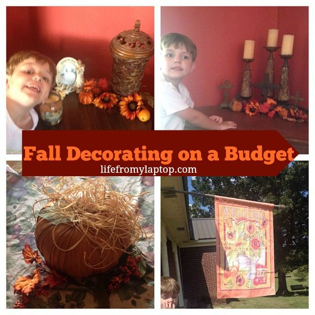 fall decorating fall pinterest fall budget and fall decorating. Black Bedroom Furniture Sets. Home Design Ideas
