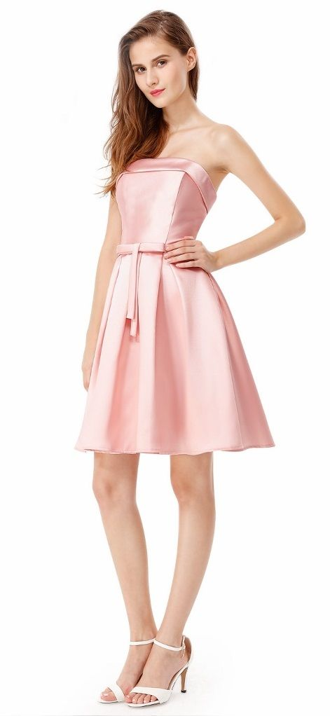 Mejores 141 imágenes de Blush Pale Pink Bridesmaid Dresses en Pinterest