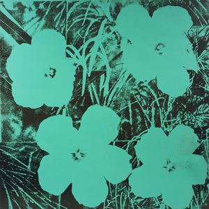 Fleurs de dix pieds - (Andy Warhol)
