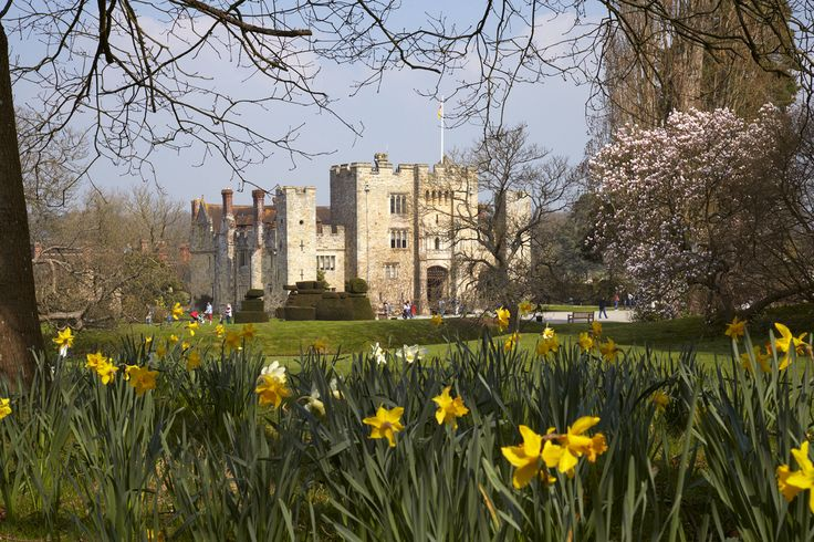 Springtime at Hever Castle & Gardens, Edenbridge, Kent, England