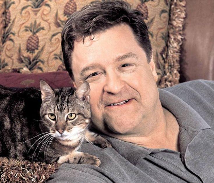 John Goodman looks like a great cat dad to me!