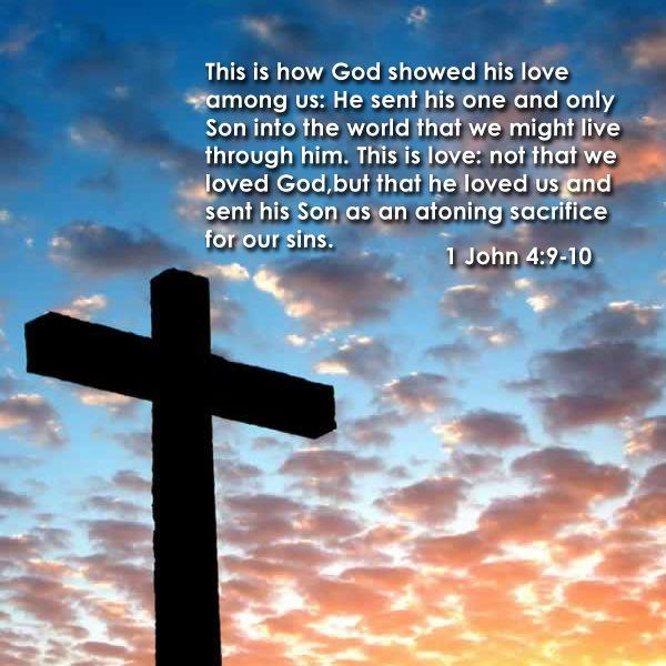 1 John 4:9-10