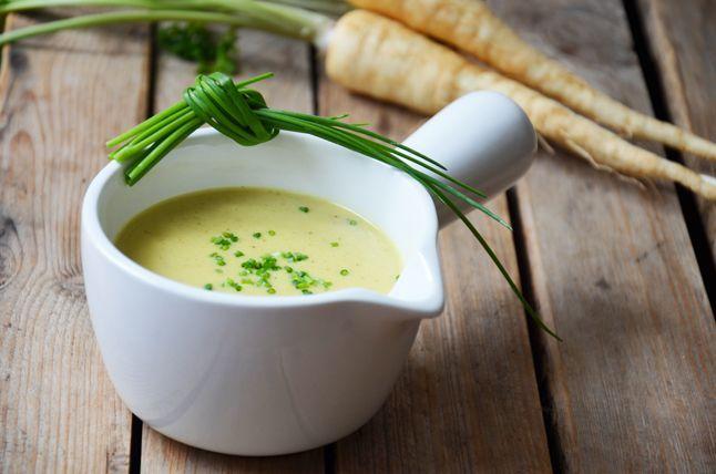 Kublanka vaří doma - Petrželová polévka