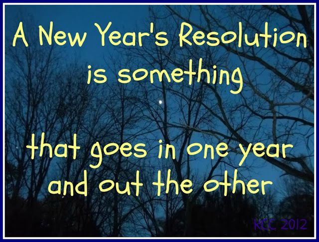 Happy New Year! New Year's Resolution quotes and sayings for Facebook or Pinterest.#NewYearQuote