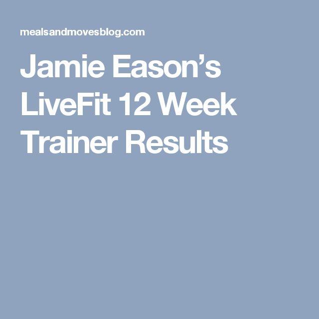 Jamie Eason's LiveFit 12 Week Trainer Results
