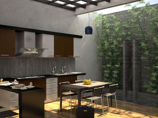 Model Dapur Minimalist Terbuka | Desain, Desain dapur