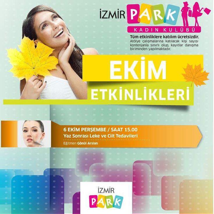 Gönül Arslan ile 'Yaz Sonrası Leke ve Cilt Tedavileri' yarın İzmir Park Kadın Kulübü'nde!