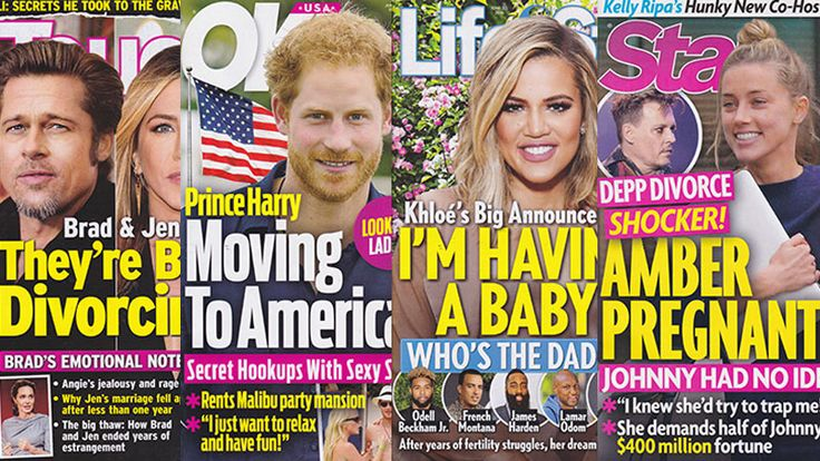 This Week In Tabloids: Amber Heard Could Be Pregnant With Johnny Depp's Baby