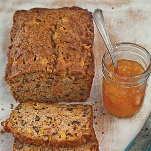 .: Spiced Peach Carrot, Quick Breads, Food, Carrots, Recipes Bread, Spiced Peaches, Peach Carrot Bread