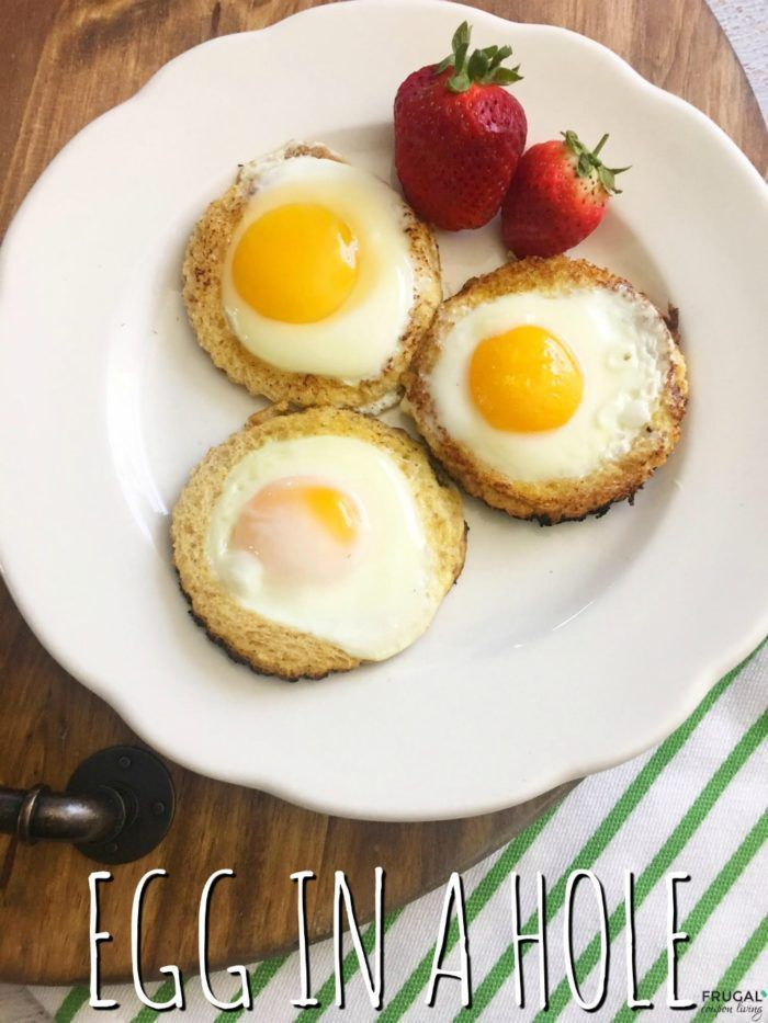 Eggs In A Hole Breakfast Recipe Breakfast Recipes Egg Recipes