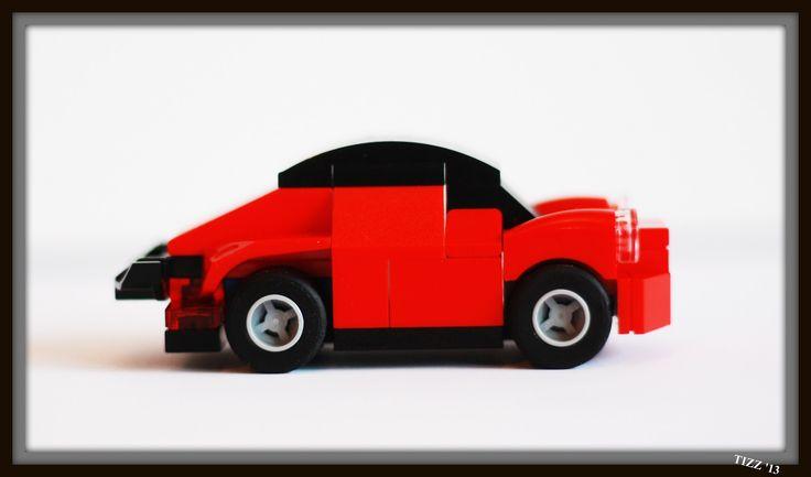 red porshe 911 miniscale 2 | by teizetzet