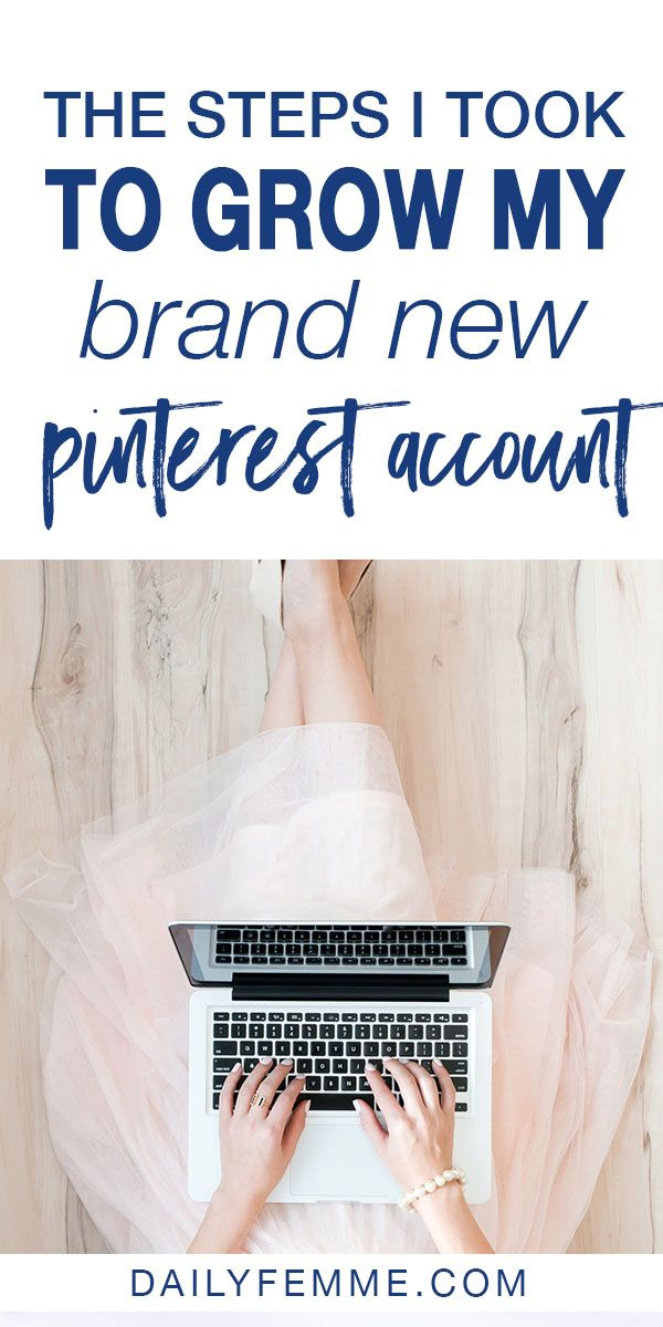 There's no doubt, Pinterest is one of the most powerful marketing tools for bloggers. But starting a new account can be scary, and you might not even know where to start with using Pinterest for marketing. Here's the steps I took to grow my brand new Pinterest account to drive massive traffic to my new website. #pinterestmarketing #pinterest #blogging #blogtraffic