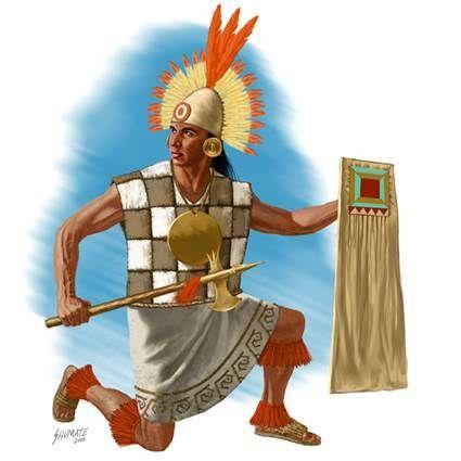 1530 c  Guerrero Inca de Atahualpa 1438 - 1533 Imperio Inca