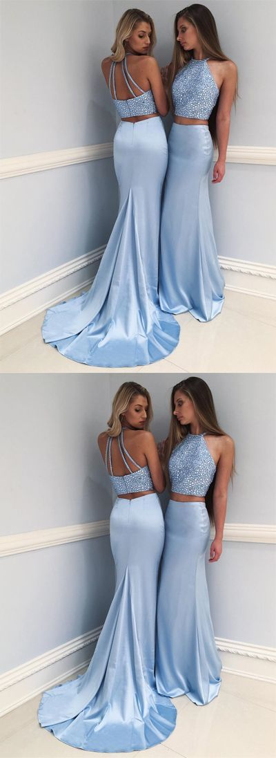 sexy prom dress,prom dresses,prom dress, blue prom dress,long