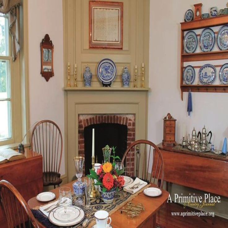 Colonial Decorating 199 best colonial dining rooms images on pinterest | primitive