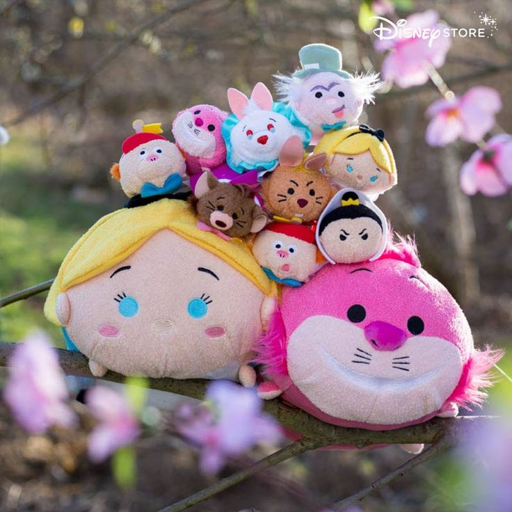 Alice In Wonderland Tsum Tsum Collection Out Now In Europe  Coming Soon To The US