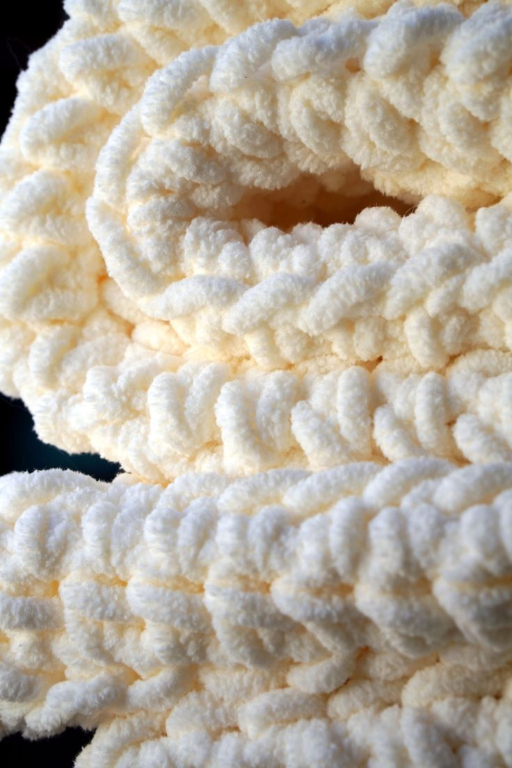 """I used Bernat Blanket yarnto make thissuper soft and cozy afghan blanket measuring 72"""" by 44"""". Usinga half double crochet stitch and a p/11.5 mm hook. Vicky Brehm - Cera Boutique 2..."""
